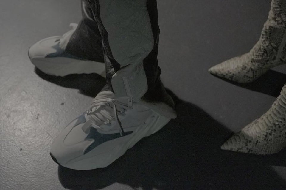 A Closer Look At The Adidas X Kanye New Yeezy Runner