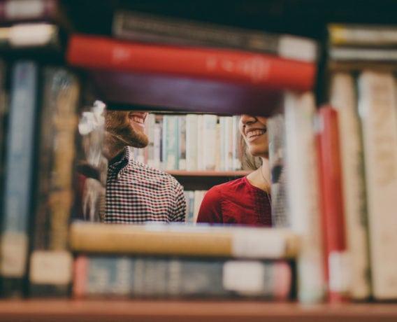 classic books library happy