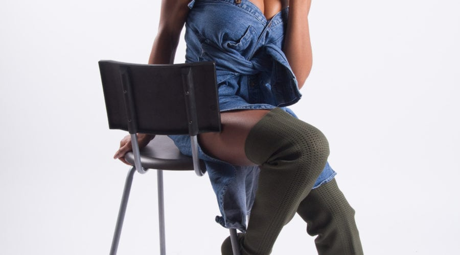 damali gordon blogger four brown girls model ebony