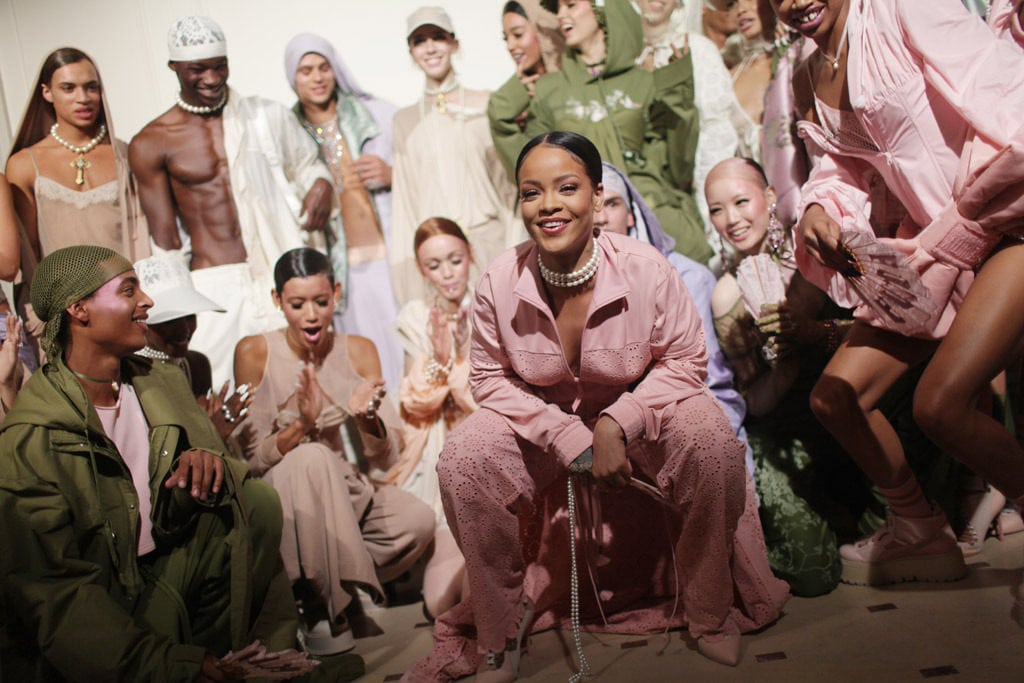 5 Fashion Highlights From The Fenty X Puma AW17 Collection In Paris Fashion Week
