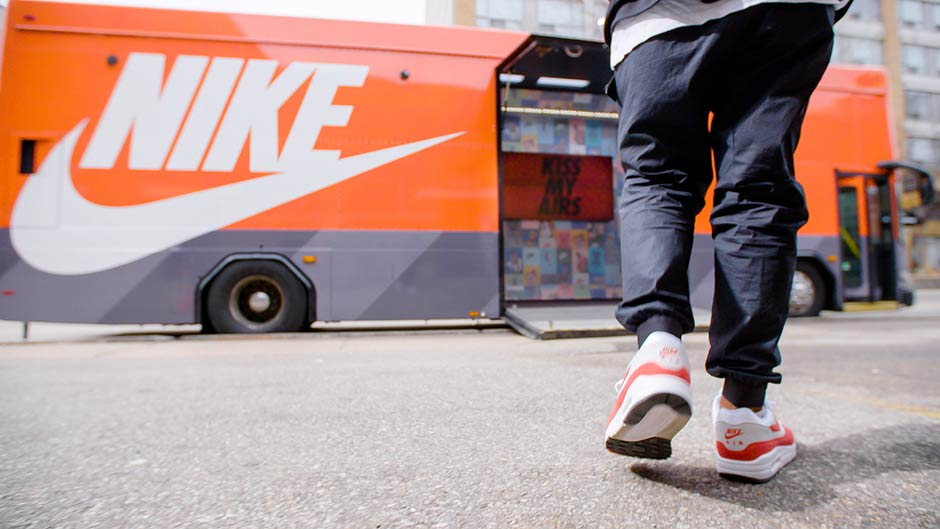 A Closer Look Inside The Nike Air Max Bus For The Air Max Day Celebration