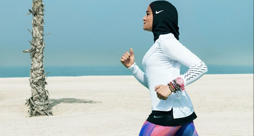 hijab made for muslim athletes nike lab