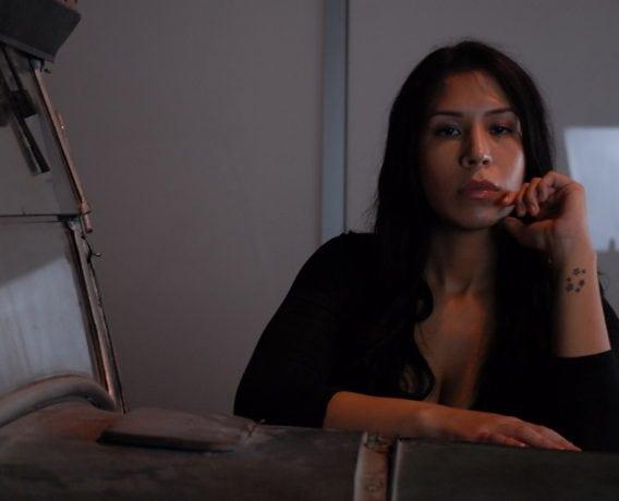 charlotte violeta writer sexy fashion photoshoot montreal woman