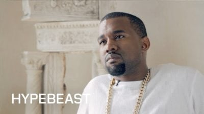 Kanye West hypebeast