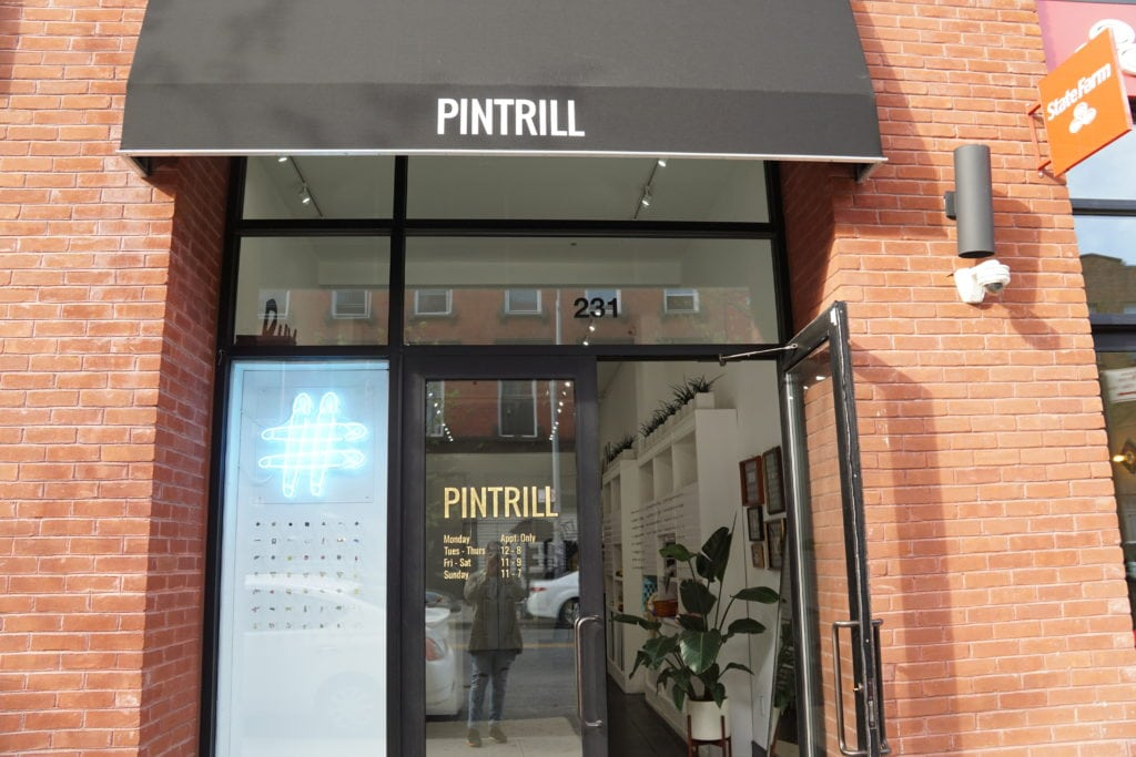 pintrill entrance new york pin accessory
