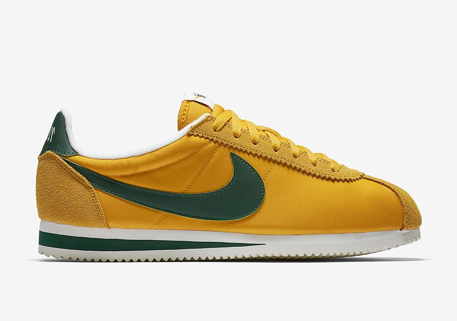 nike cortez oregon sneakers old school vintage
