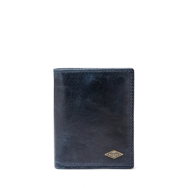 the bay ryan rfid coin pocket wallet leather wallet