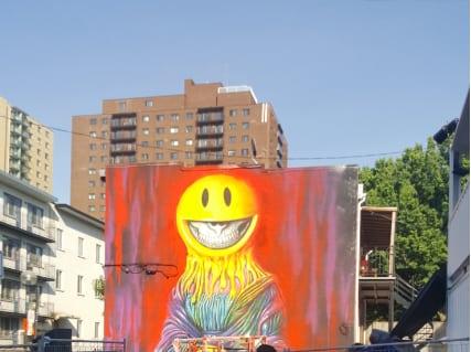 ron english muralist visual artist mural festival