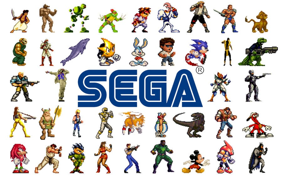 classic sega games street fighter mortal kombat