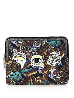 kenzo leather tablet case
