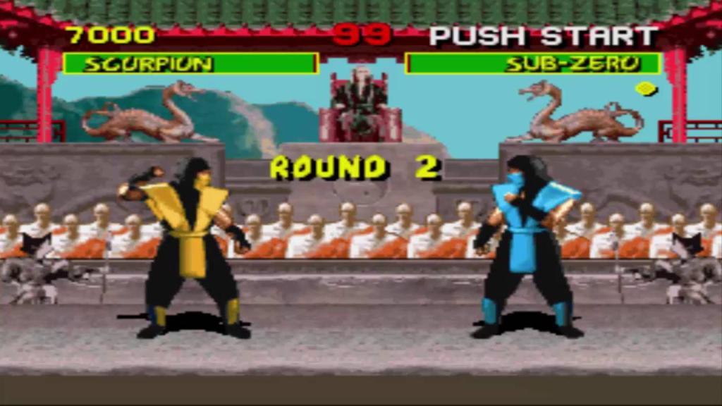 mrotal kombat 1992 sega genesis classic games