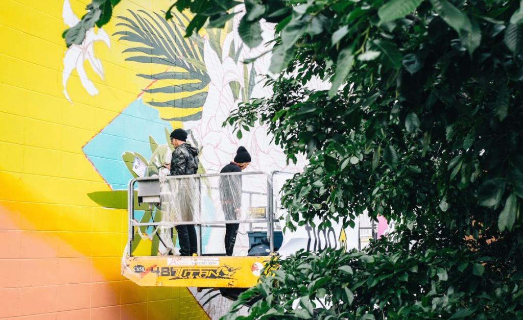 mural festival saint-laurent boulevard montreal art fest