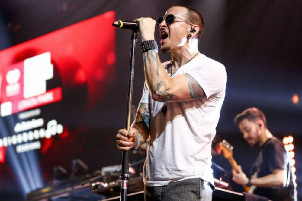 chester bennington, linkin park, montrealgotstyle, montreal, rock, jay z, numb/encore