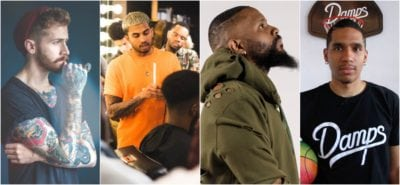 montreal barbers, jeremy wilde, empereur marley, thddeus, sage damps