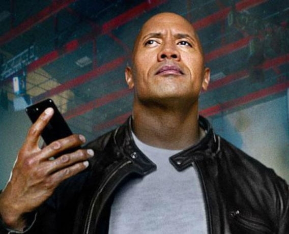 dwayne jonshon, the rock, apple, dominate the day, siri