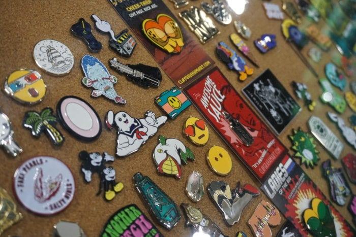 disturb pins, enamel pins, pintrill, pop culture pins, pin fashion