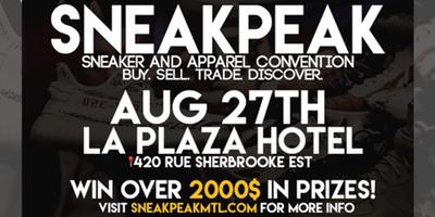 sneak peak mtl, montreal sneaker convention, mtl blog, montreal events, sneaker events, sneakernews, sneakrbardetroit.
