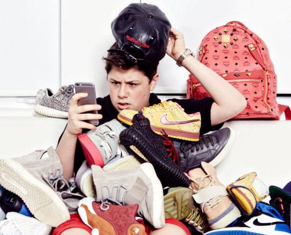 shoe con, benjamin kickz, business is boomin, sneaker for guys