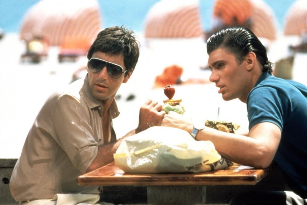 manny ray, scarface the movie, al pacino, tony, montana, say hello to my little friend,