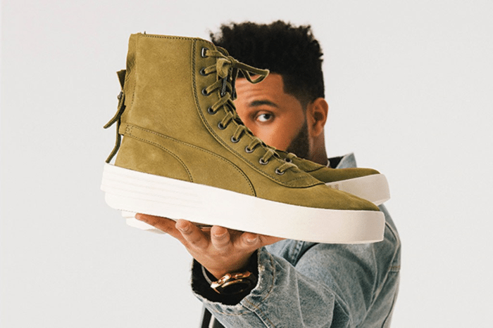the weeknd, puma shoes, puma collab, parallel XO, Xo, Toronto Montrealgotstyle