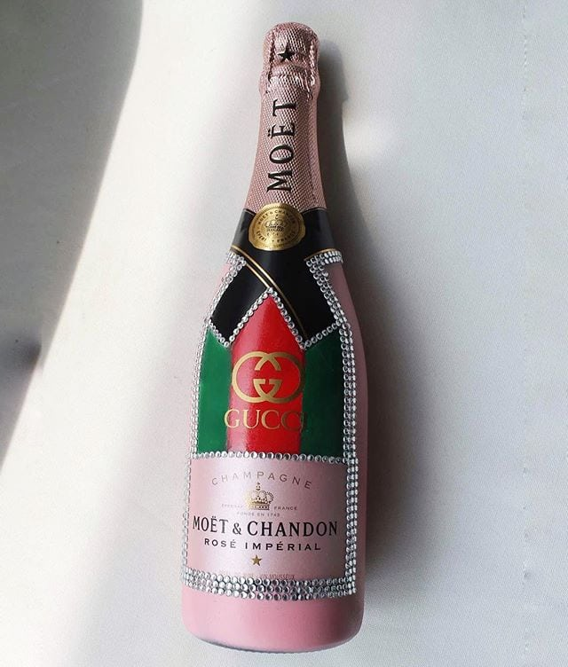 bottle of champagne, champagne bottle customize, customize, bubbly