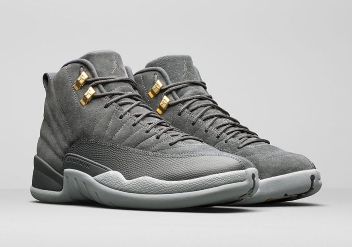 brand new 7101a e3e27 air jordan 12 cool grey, hot releases, jordan releases, kicks, kicksonfire