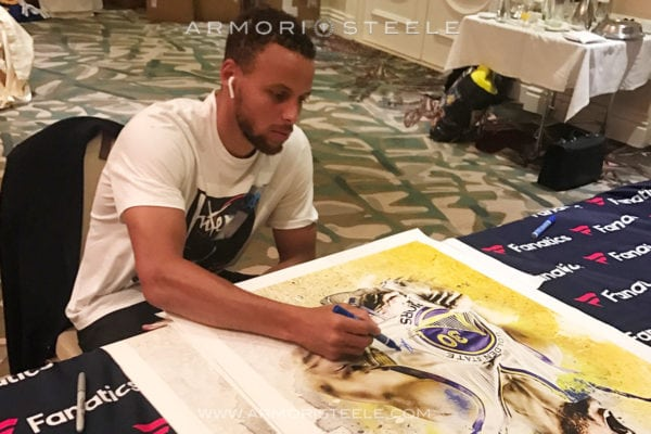 steph curry, nba, armori steele, montreal events, montreal entertainment, public art show