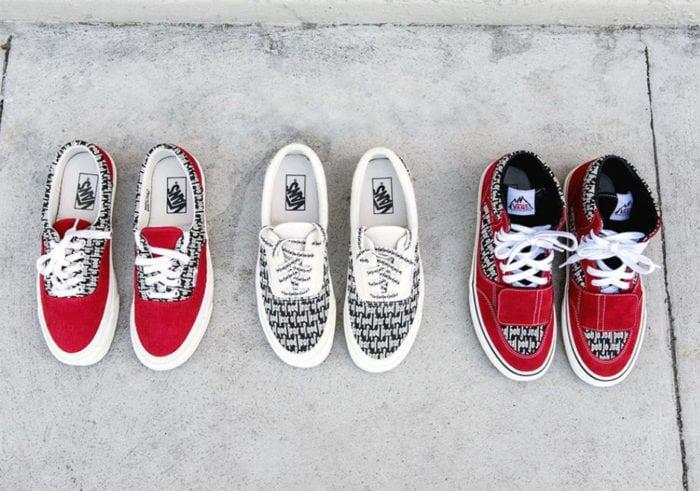 fear of god with vans, vans shoes, sneaker news, sneaker releases, hot sneaker releases, exclusive shoes