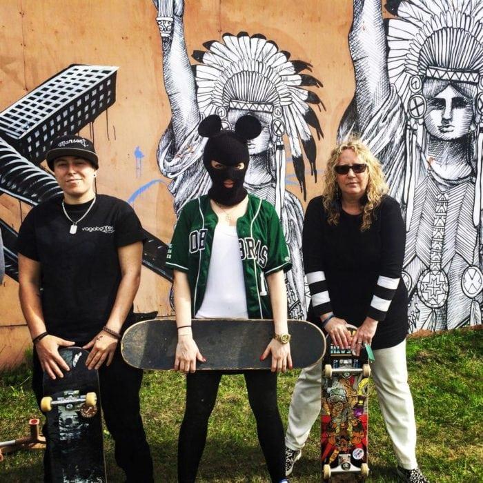 betty esperanza, miss me art, skateboard, skateboarding, tony hawk