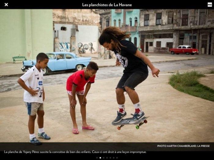 la presse, skate deck, montreal charity, osbl, skateboards for hope, betty esperanza