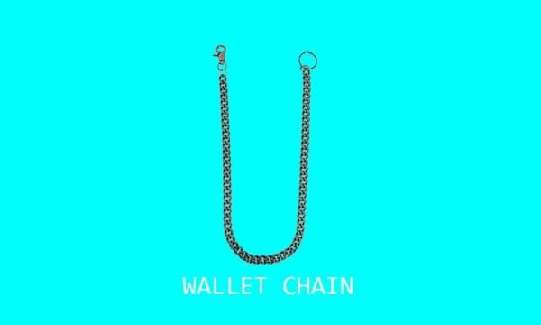 wallet chain, fashion accessories, fashion items, fashion gems, fashion stores montreal, montreal fashion stores