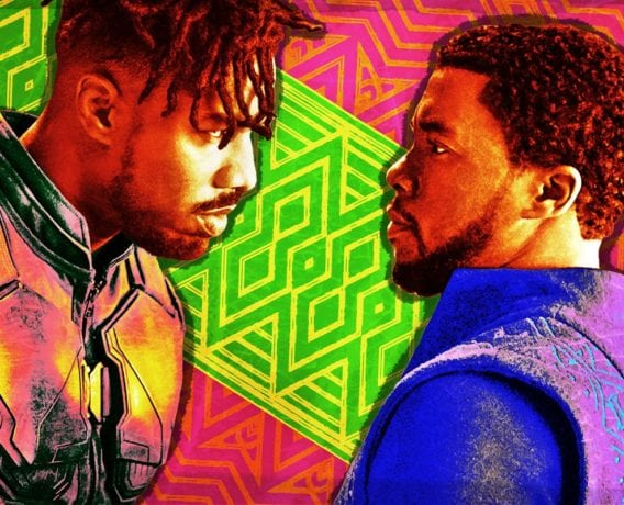 tchalla, erik killmonger, black panther movie, black panther comic book, comic book, marvel books