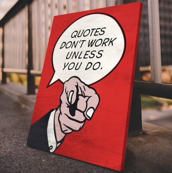 ikonick, new decor, art canvas inspired by the hustle, motivation, self help