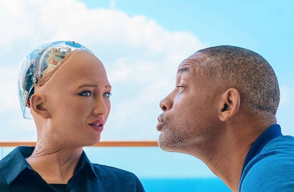 Will Smith Dating Sophia The Robot Should Make Us Rethink Life
