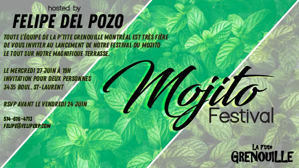la p'tite grenouille, fresh mojito, montreal events, montreal restaurants