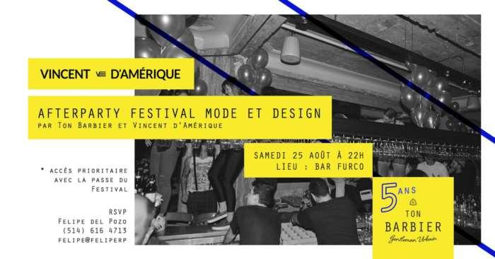 ton barbier, vincent d'Amérique, montreal fashion, festival de mode et design,  festival de mode et design 2018