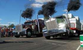 challenge 255, heavy trucks & motorcycles show, baie du fevre