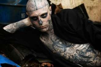 zombie boy, model montreal, zombie dead, rick genest dead, zombie boy,