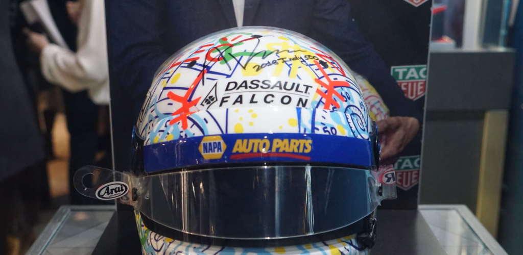 tag heuer, museum of motion, birks, racing helmet, alexander rossi
