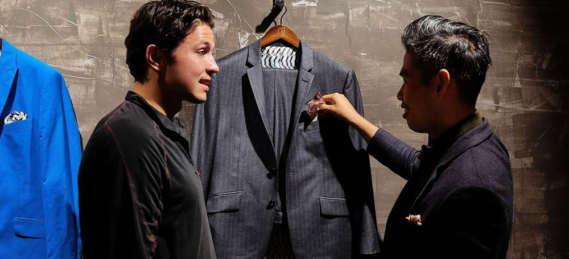 nathon kong, luxury suit, montreal designer, montreal fashion
