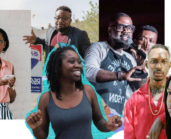 black entrepreneurs from montreal, hanna che, harry forbez, mactac mbaye, danielle murelle cox, annie louis, renzel f dashington