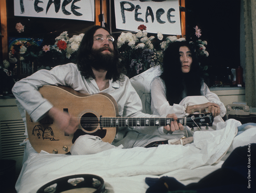 The Reine Elizabeth Hotel Celebrates The 50th Anniversary Of John Lennon Bed In For Peace