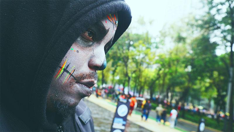 kosicreates, nkosi phanord, montrealgotstyle, los dias de los muertos makeup