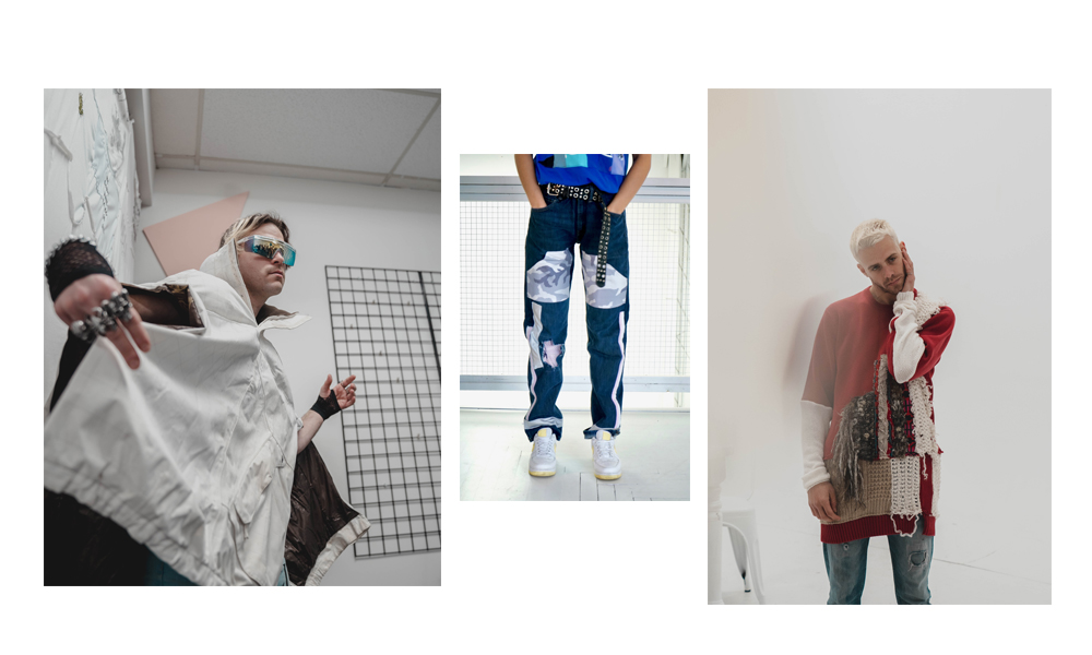 Make The New With The Old  How Bloom Clothing Picks Used Clothes To Make Pieces Of Art